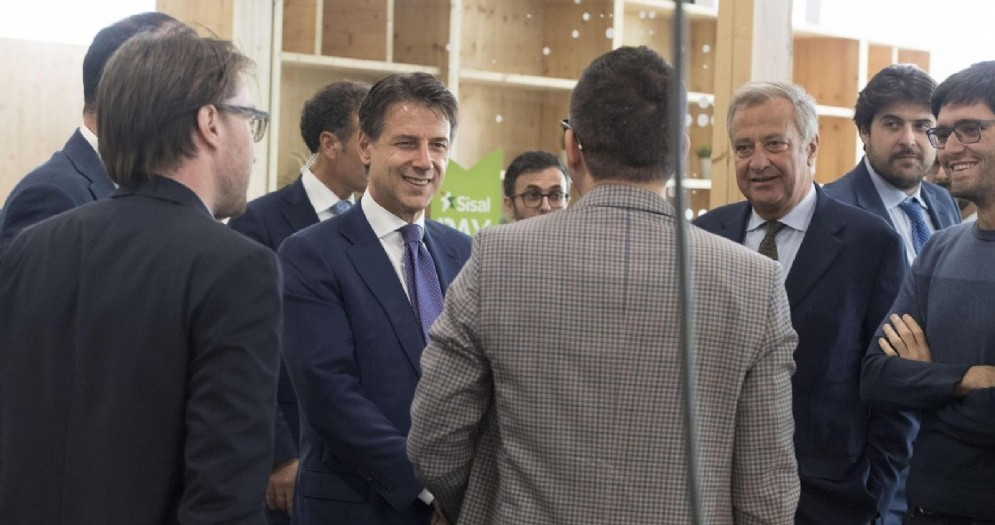 Il premier Giuseppe Conte in visita al Talent Garden di Milano