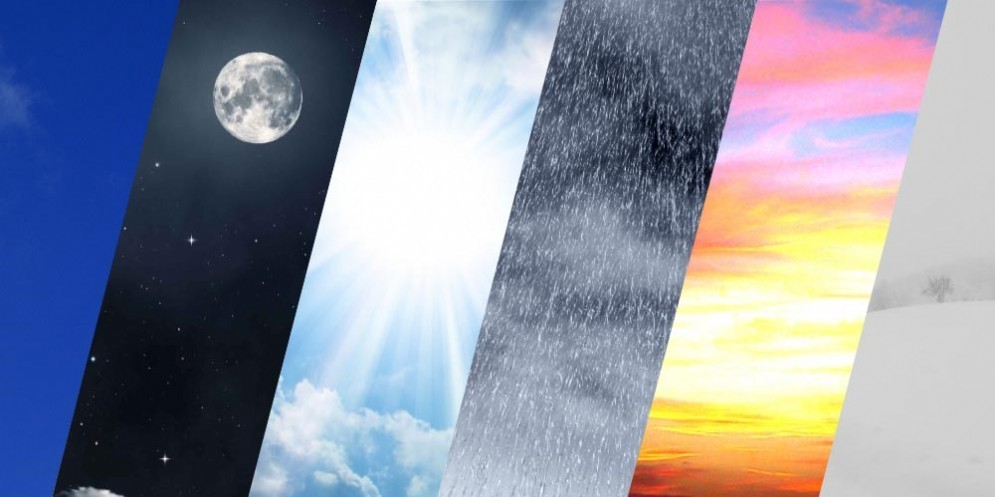 Previsioni meteo di Martedì 16 Ottobre 2018