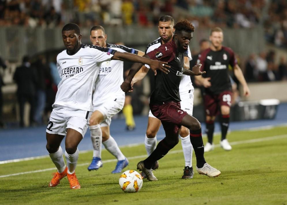 Tiemoué Bakayoko, centrocampista del Milan in prestito dal Chelsea