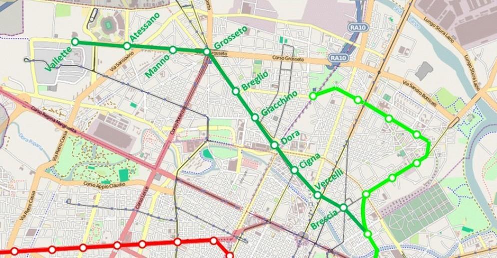 «La metro 2? Facciamola arrivare fino allo Juventus Stadium»: la proposta dei cittadini