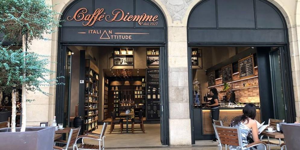Caffè Diemme Italian Attitude apre in città e festeggia con gli udinesi