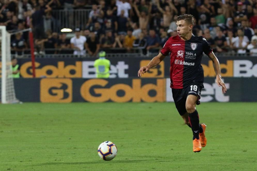 Nicolò Barella, centrocampista del Cagliari e della nazionale italiana