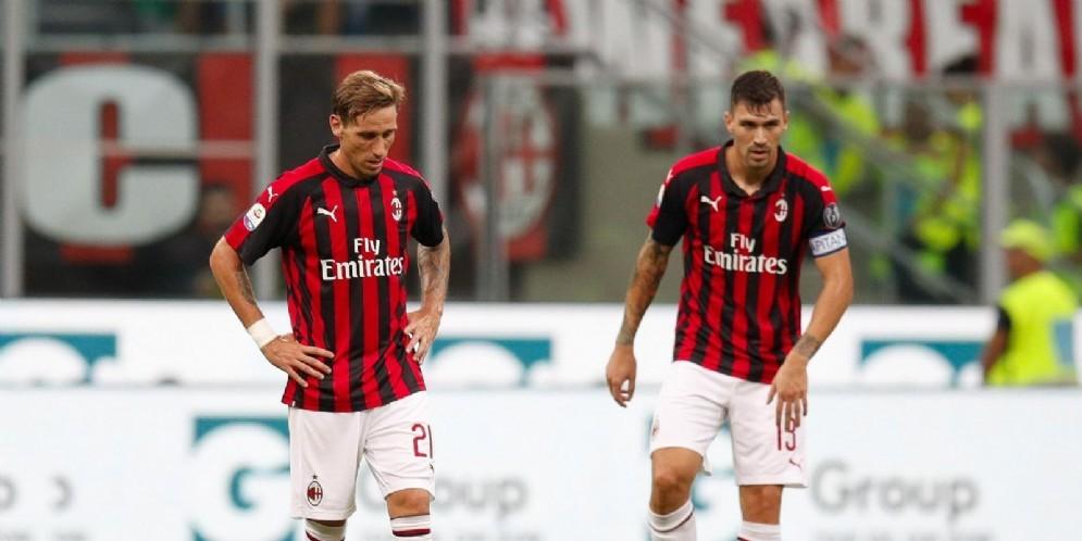 La delusione di Lucas Biglia ed Alessio Romagnoli