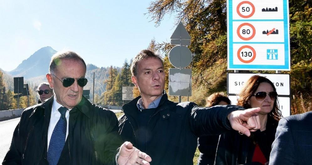 Il prefetto Massimo Bontempi, direttore dell'ufficio centrale immigrazione a Claviere