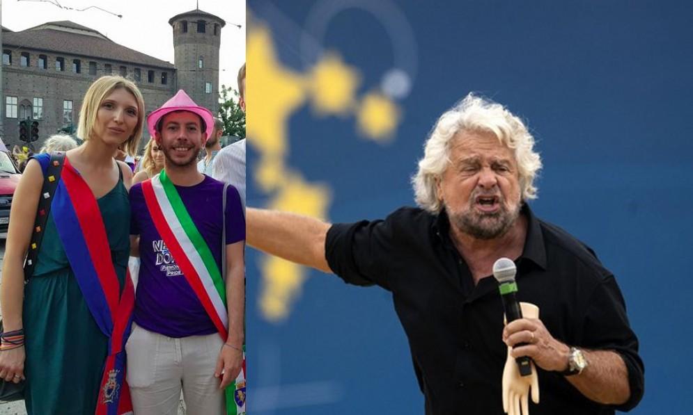 Carlotta Trevisan contro Beppe Grillo