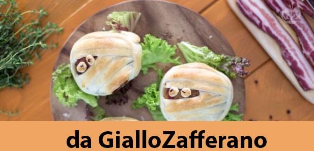 Le mummie hamburgher proposte da Giallo Zafferano