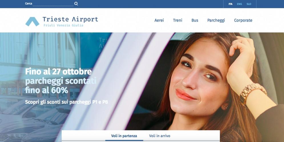 Online il nuovo sito 'Trieste Airport'