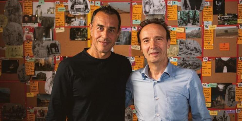 Matteo Garrone e Roberto Benigni