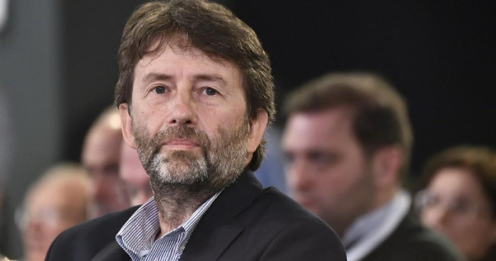 Dario Franceschini durante il Forum per l'Italia, conferenza programmatica del Partito Democratico