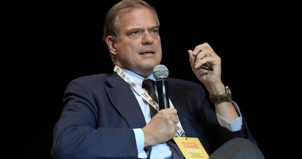 L'economista Lorenzo Bini Smaghi, presidente di Société Genérale e di Italgas