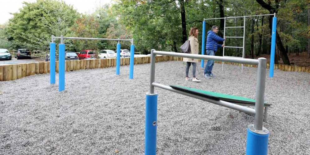 San Luigi: il Comune inaugura una nuova area fitness