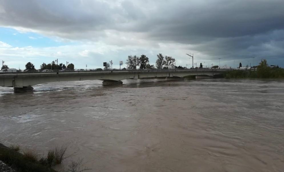 Maltempo, chiuso il ponte sul Tagliamento a Latisana