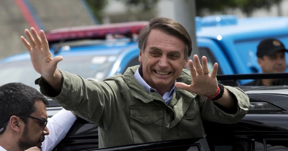 Il neopresidente del Brasile Jair Bolsonaro