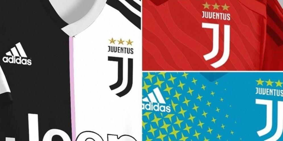 L'Adidas è pronta a lanciare la maglia della Juventus per la stagione 2019-2020