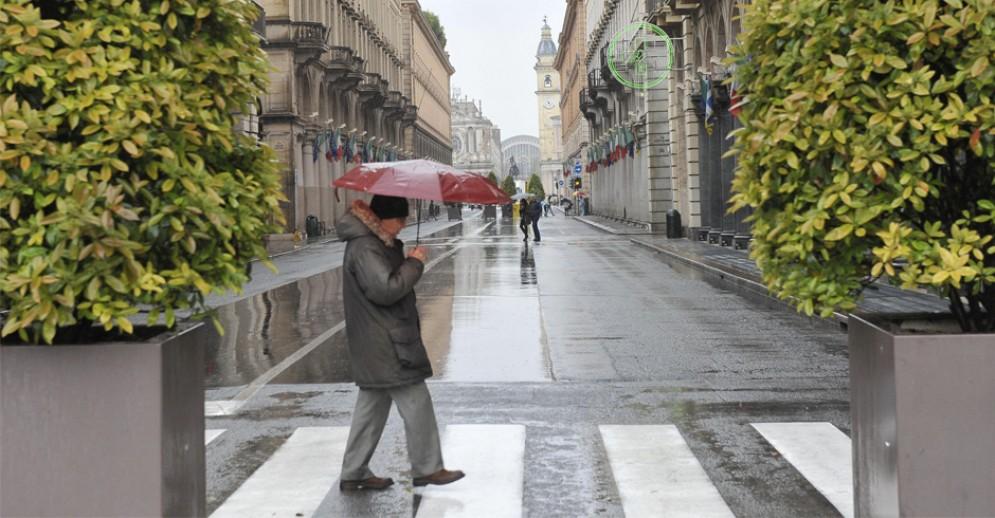 Il maltempo spaventa Torino, prevista una settimana di piogge: le previsioni