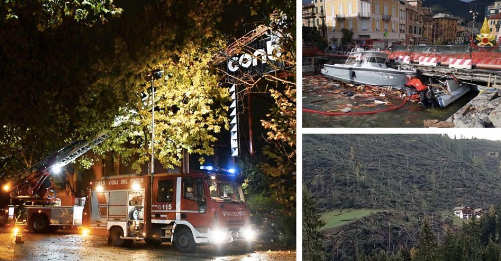 Il maltempo fa disastri in Italia, da Intesa Sanpaolo 100 milioni di euro per il Nord Ovest
