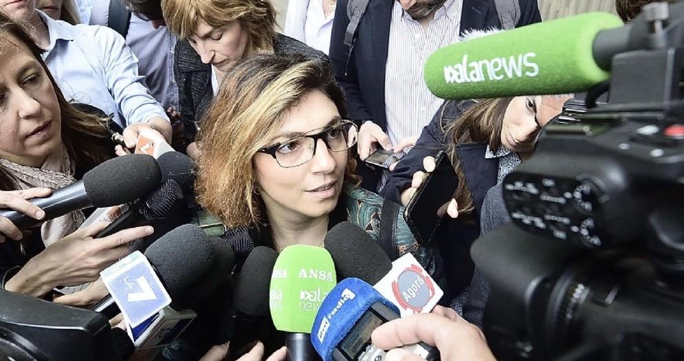 La sottosegretaria all'Economia Laura Castelli