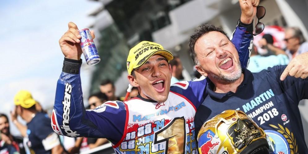 Jorge Martin e Fausto Gresini
