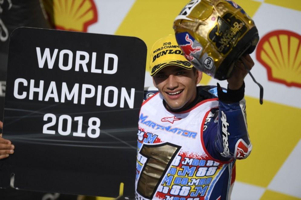 Jorge Martin, Campione del Mondo Moto3 2018