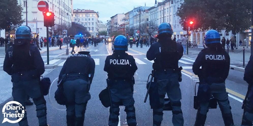 Tamaro, Sap: «Agenti delle forze dell'ordine veri difensori della democrazia»