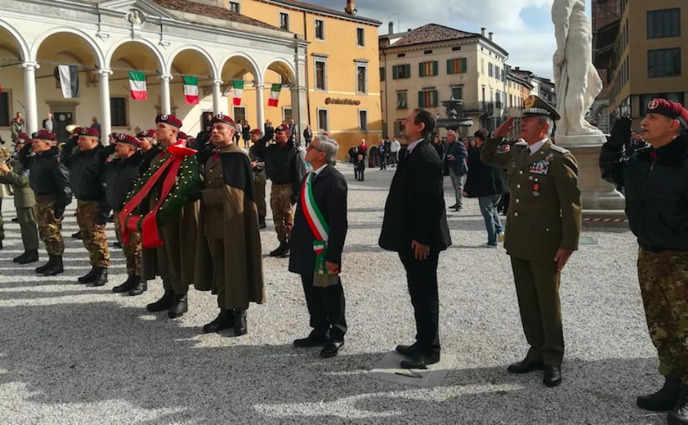 Fontanini ha ricordato la liberazione di Udine da parte del del Reggimento Savoia Cavalleria