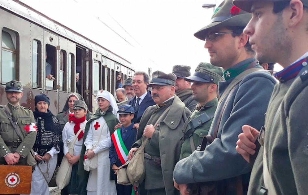 Treno storico sui luoghi della Grande Guerra da tutto esaurito