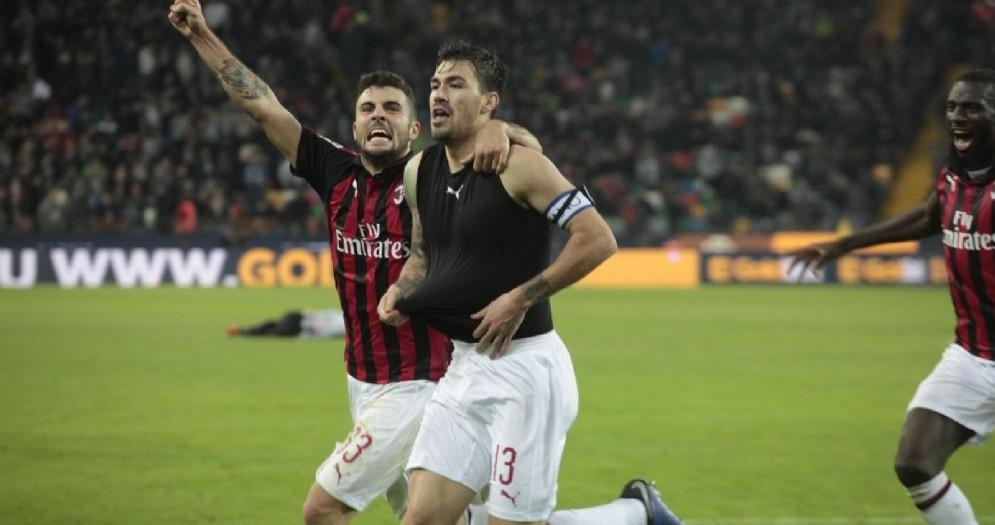 Il capitano del Milan Alessio Romagnoli