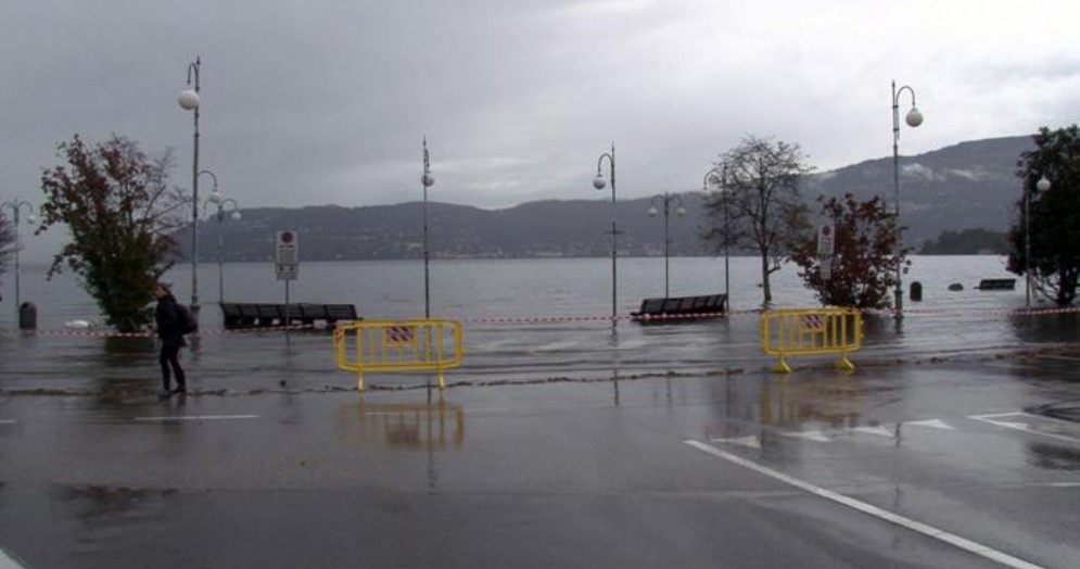 Lago Maggiore a rischio esondazione