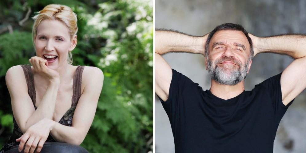 'Alle 5 da me': Gaia de Laurentiis e Ugo Dighero in tour in Fvg