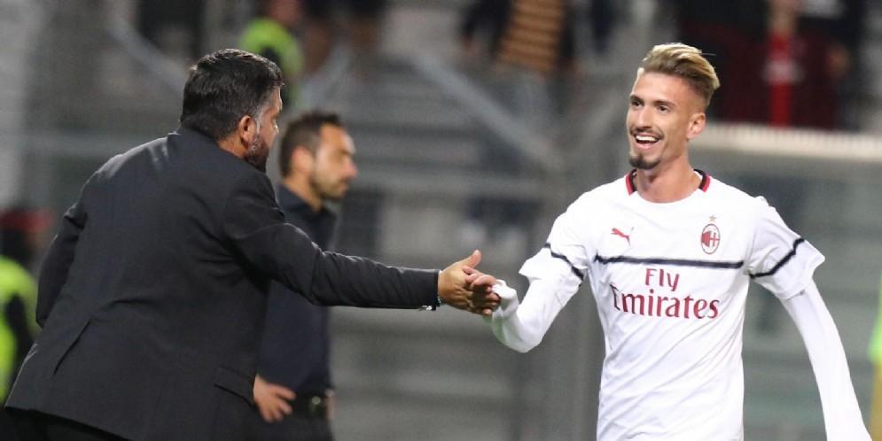 L'attaccante spagnolo del Milan Castillejo