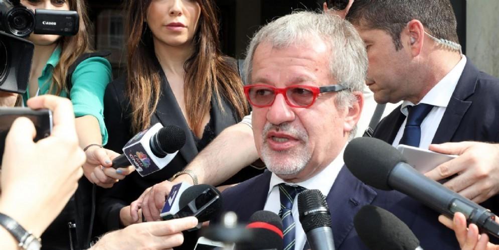 L'ex presidente leghista della Lombardia, Roberto Maroni