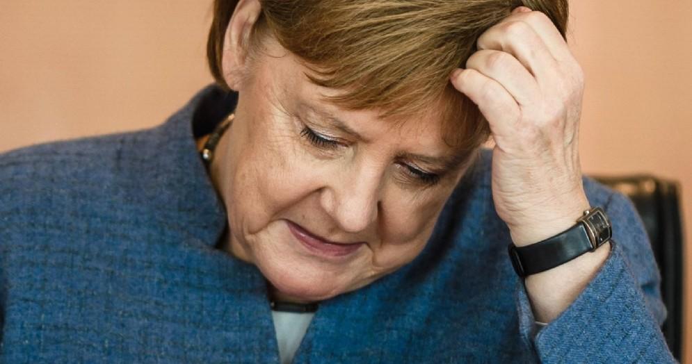 La presidente della Cdu e cancelliera tedesca, Angela Merkel