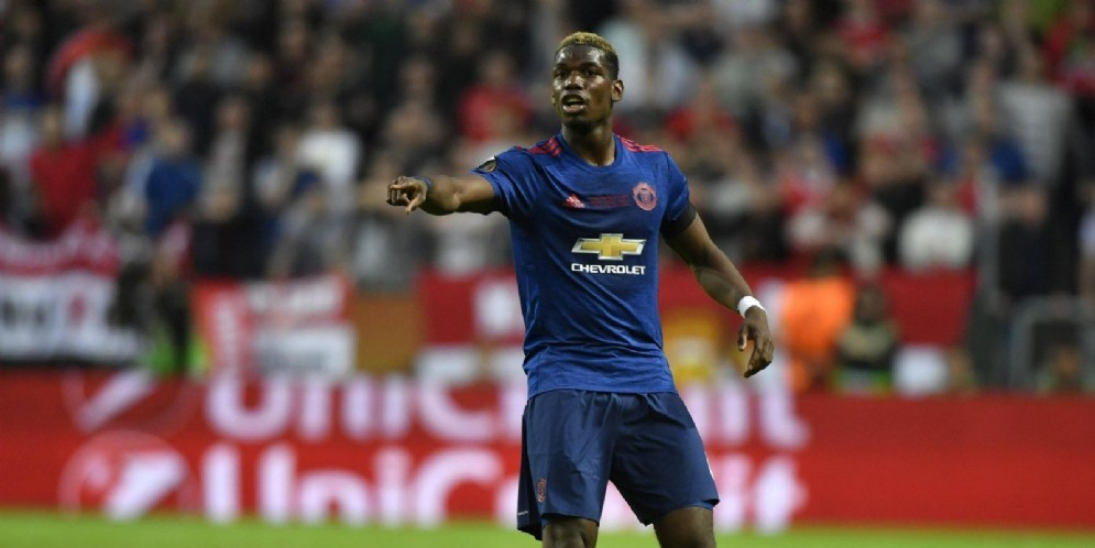 Paul Pogba, centrocampista del Manchester United e della nazionale francese
