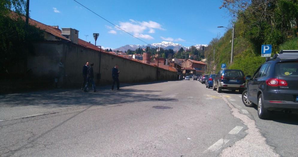 Via Corradino Sella chiusa al traffico nella mattinata del 10 novembre