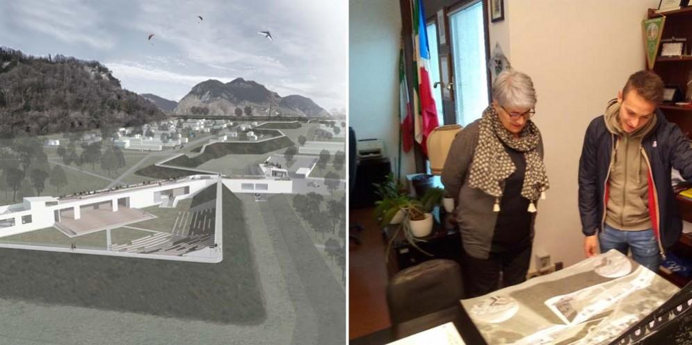 Il parco del Rivellino diventa una tesi di laurea: merito di un neo architetto friulano