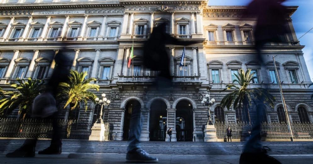 Una veduta della sede della Banca d'Italia a Palazzo Koch