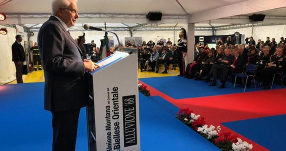 Mattarella: «Lo Stato c'è»