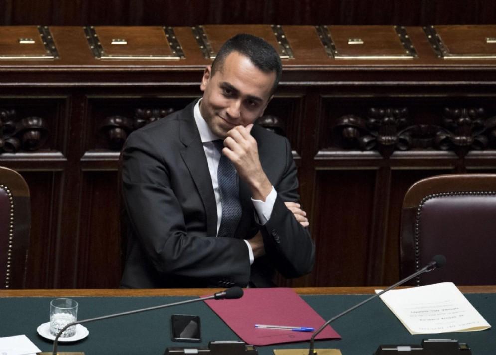 Il vice premier e ministro del Lavoro e dello Sviluppo Economico, Luigi Di Maio