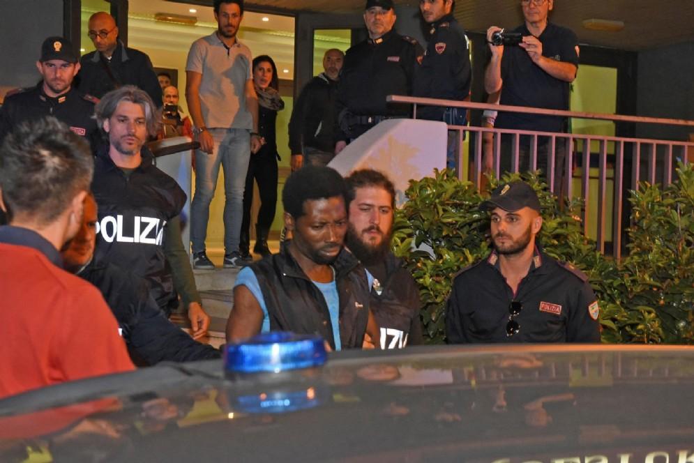 Uno degli arrestati per l'omicidio di Desirée Mariottini
