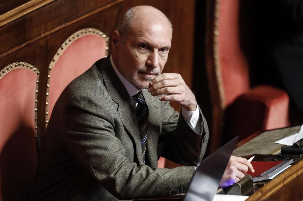 Il senatore del Movimento 5 stelle, Gregorio De Falco