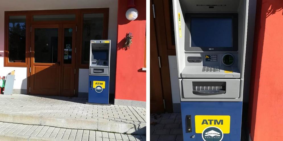 C'è voluto mezzo secolo, ma finalmente Sella Nevea ha un bancomat