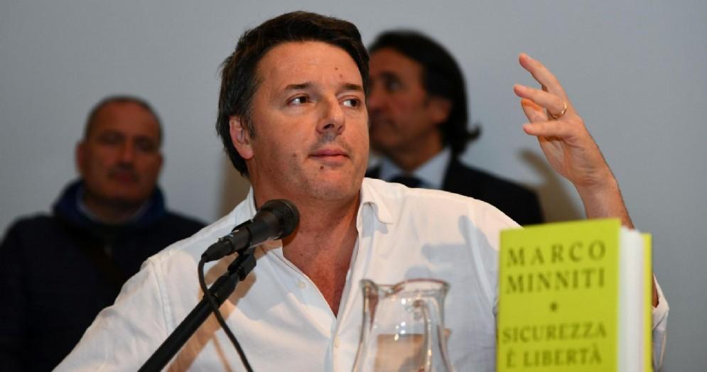 L'ex premier ed ex segretario del Pd, Matteo Renzi