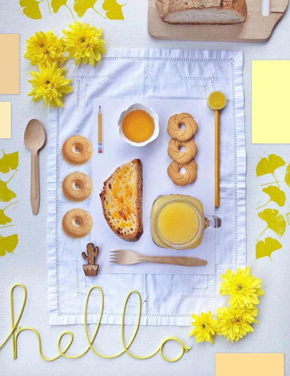 Colazione in giallo