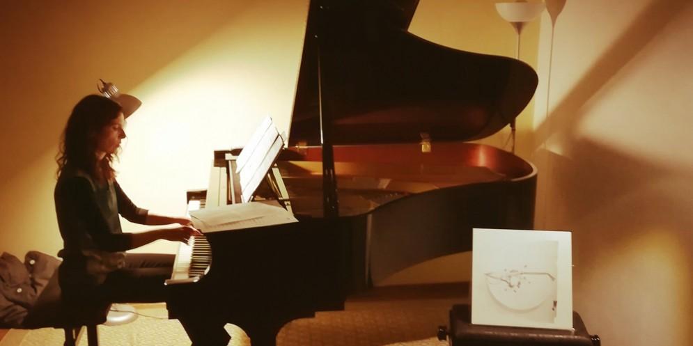 Salotto musicale del Fvg: dialogo compositivo tra Caterina Venturelli e Cardini