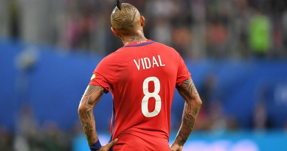Arturo Vidal, centrocampista cileno del Barcellona