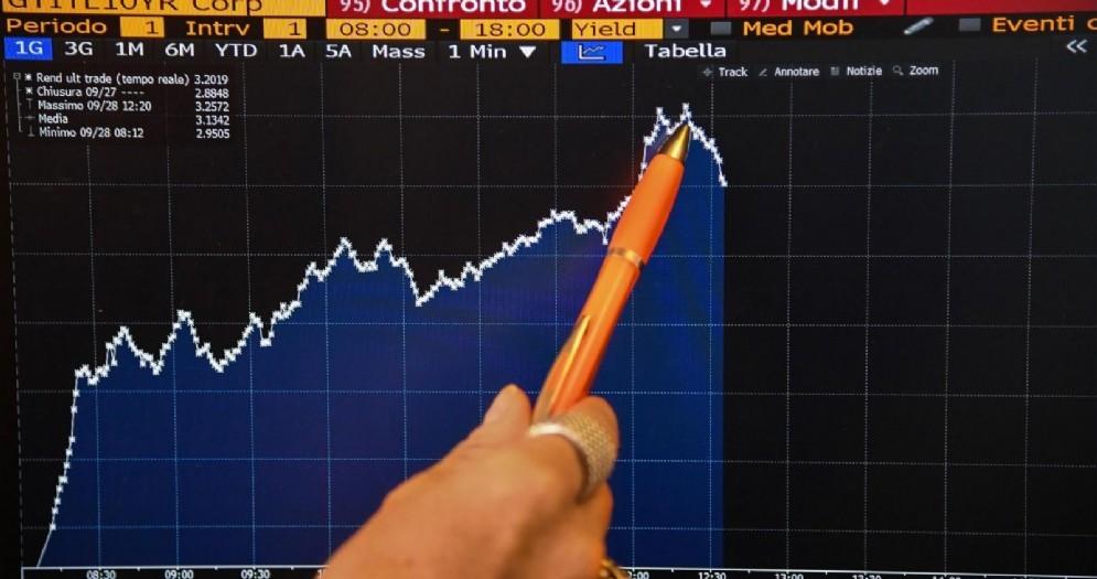 Il rialzo del tasso dei Btp a 10 anni