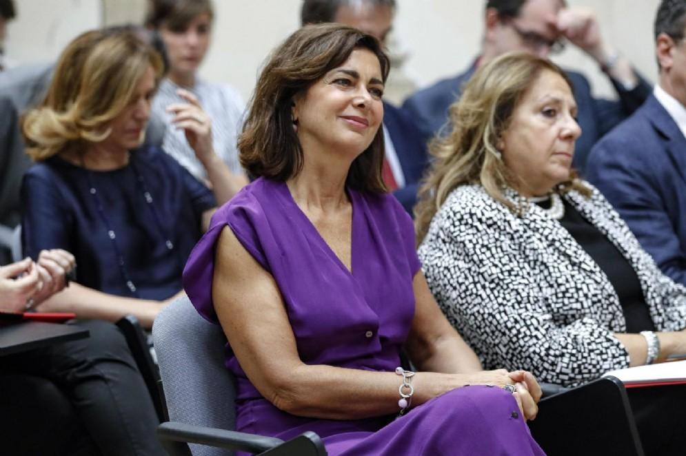 L'ex presidente della Camera e deputata Laura Boldrini