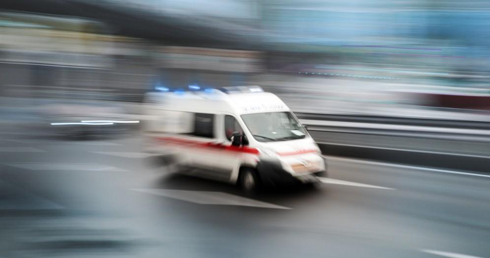 Frontale a Gaglianico, uno dei conducenti all'Ospedale