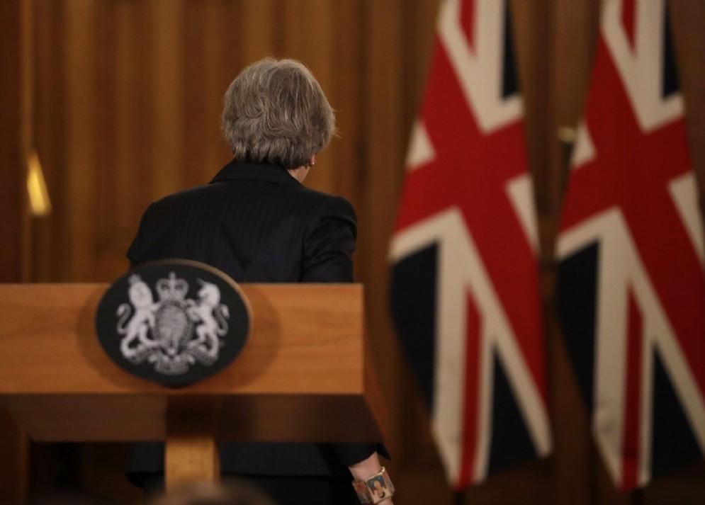Il primo ministro britannico Theresa May