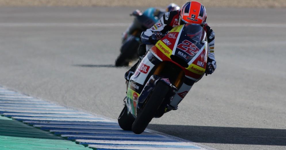 Lowes subito competitivo a Jerez de la Frontera